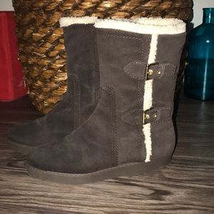 SALE ⬇️ Talbots Leather Brown Suede Winter Boots
